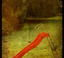 lonely slide by Sonia de Macedo-Stewart