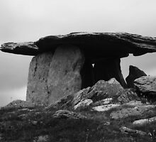 Poulnabrone Dolmen #1 by Martina Fagan