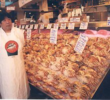 Seattle Fishmonger by AuntieJ