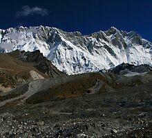 The Nuptse Lhotse Wall by Richard Heath
