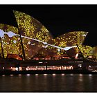 Sydney Opera House, Vivid Light Festival by ivanwillsau