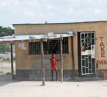 Botswanan Take-Away, Rakops, Botswana, Africa by Adrian Paul