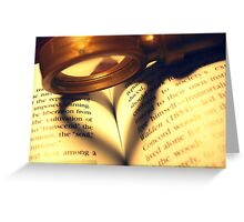 Love in this Case Greeting Card