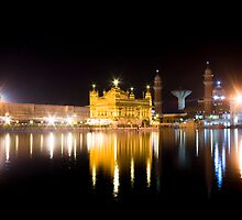 The Golden Temple by Chetan R