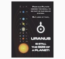 Uranus is the size of a planet by electricfly