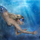 Blue Mermaid by SarahSchloo