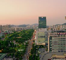 Incheon at Dusk by Saikat Babin Biswas