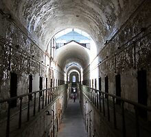 Penitentiary Corridor by Allison Ostertag