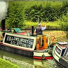 Steam Narrowboat President and Butty Kildare - Braunston by SimplyScene