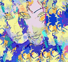 Abstracted Faces / Abstract With Faces – Echoes of a Portrait of an Imaginary Woman by Ivana Redwine