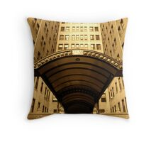 GOLDEN HIGH RISE Throw Pillow