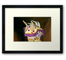 Kunes Chromodoris (Nudibranch) Framed Print