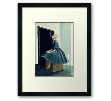 Frilly Framed Print