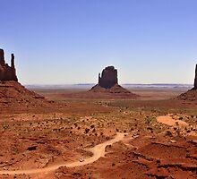 Monument Valley by Ann  Van Breemen