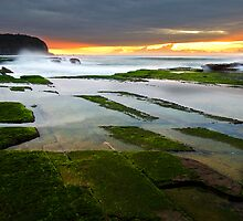 Hopscotch - Turimetta Beach, NSW by Malcolm Katon