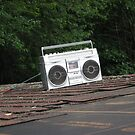 Boombox on a roof. by dylangould
