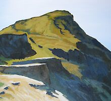 Scottish Hill Top by Charles Kohnen