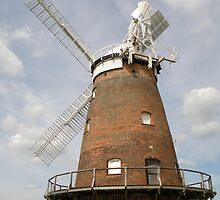 Thaxted Windmill. by Edward Denyer