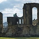 Byland Abbey 2a by WatscapePhoto