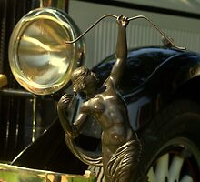 1928 Diana Motor Car Statue by TeeMack