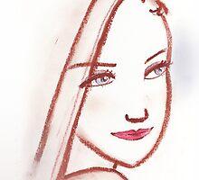 Lipstick Girl S by Midori Furze
