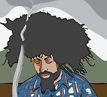 reggie watts by chriswilson88