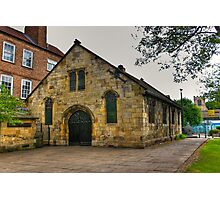 St Crux - Pavement,York Photographic Print