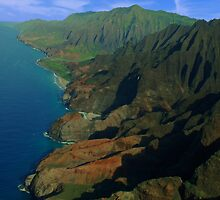 Napali Coast, Kauai, Hawaii by thedigitalpig