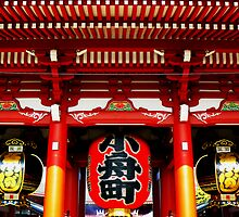 Sensoji Temple, Tokyo by Tamara Travers