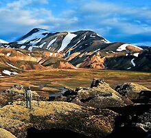 Landmannalaugar Iceland. by Árni  Tryggvason