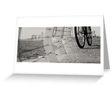 bicycles need to relax Greeting Card