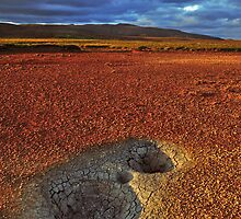 Two hot holes by Árni  Tryggvason