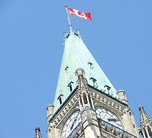 Parliament Hill peace tower by avalonpoet