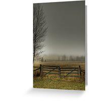 Autumns Pasture Greeting Card