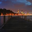 Old Swan Brewery Jetty At Dawn Before The Storm  by EOS20