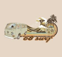 Volkswagen Kombi Tee shirt - 68 Surf by KombiNation