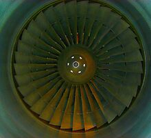 Aircraft Engine by Wayne Gerard Trotman