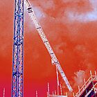 Crane and construction by Birds &  Bees