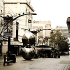 The Silver Balls in Rundle Mall by tarsia