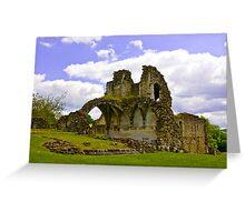 Kirkham Abbey Ruins #3 Greeting Card