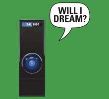 SAL-9000: Will I dream? Kids Clothes