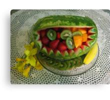 Watermelon Picnic Canvas Print