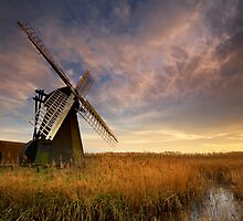 Herringfleet, Suffolk by Ian Flindt