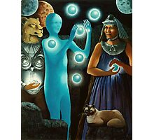Initiation:11-11 -spiritual,fantasy oil painting Photographic Print