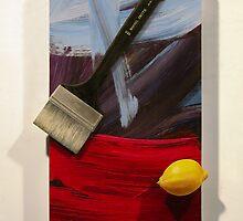 Brush, Marks with Lemon by Robert Tynes