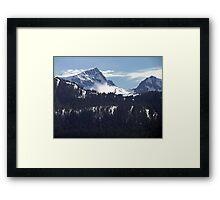 Strathcona Park Mountains Framed Print