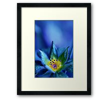 Where you used to hold me Framed Print