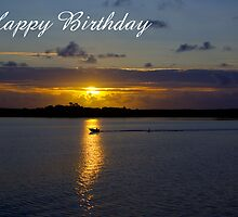 Strahan Harbour, Happy Birthday by Steven Weeks
