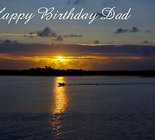 Strahan Harbour, Happy Birthday Dad by Steven Weeks