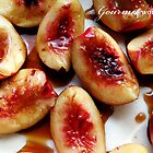 White Nectarines & Marsala by MsGourmet